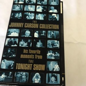 THE JOHNNY CARSON COLLECTION, 4 VHS tape boxed set